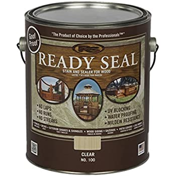 Ready Seal 112 1 Gallon Can Natural Cedar Exterior Wood Stain And Sealer Home