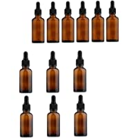 D DOLITY 30ml/50ml Glass Bottles, with Glass Eye Droppers-Pack of 12