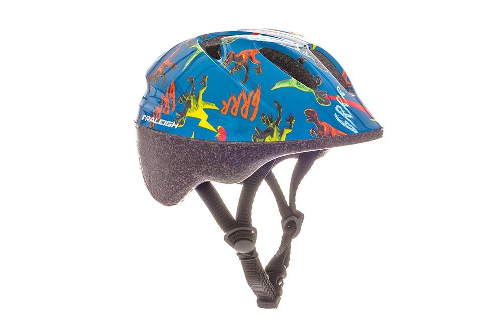 RALEIGH Kids 'Rascal Dinosaure Casque de vélo, Multicolore, 44–50cm