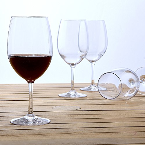 Polycarbonate Cabernet,  Wine Glasses Set of 4 ()