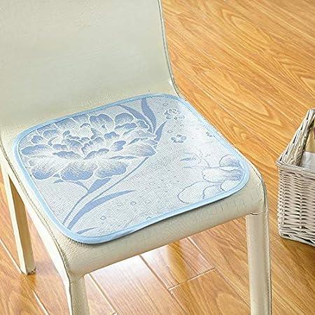 RISHIL WORLD Summer Non-Slip Ice Silk Chair Cooling Breathable Cushion Tatami Sofa Seat Cushion Health Mats Single Item.