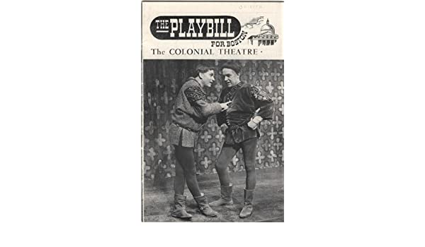 Playbill Theatre Program March 30 - April 8, 1961 (Between the Broadway Runs. Lawrence Olivier, Arthur Kennedy): Boston Colonial Theatre: Amazon.com: Books