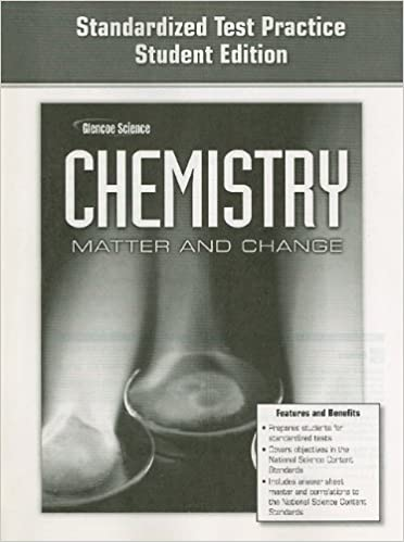 Amazon glencoe science chemistry matter and change glencoe science chemistry matter and change standardized test practice student workbook edition fandeluxe Images