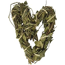 Ware Manufacturing Ware Bird Tea Time Heart Chew for Animals, Natural, Small