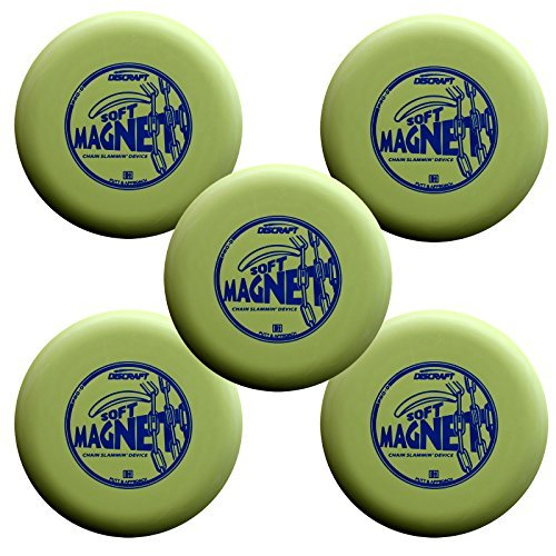 Discraft Magnet - Discraft D Soft Magnet max weight Bright (5 pack)