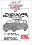 Volkswagen Transporter T4, 2.0 Litre Petrol, 1.9 and 2.4 Litre Diesel, to end of 1995