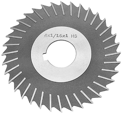 DWCB472 8''x1/8''x1'' HSS Metal Slitting Saw with Side Chip