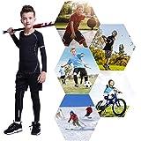 Tesuwel 2/3/4 Pcs Boys Girls Base Layer Athletic