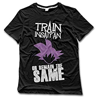 Amazon.com: Duxa Men's Train Insaiyan Or Remain The Same ...