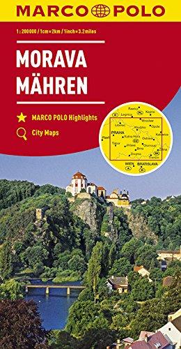 MARCO POLO Karte Tschechien Blatt 2 Mähren 1:200 000 (MARCO POLO Karten 1:200.000)