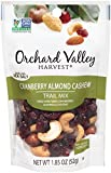 ORCHARD VALLEY HARVEST Cranberry Almond Cashew Trail Mix, Non-GMO, No Artificial Ingredients, 1.85 ounces (Pack of 14)