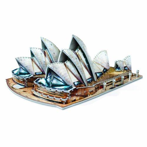 WREBBIT 3D Sydney Opera House (925-Piece) (Opera House Sydney compare prices)