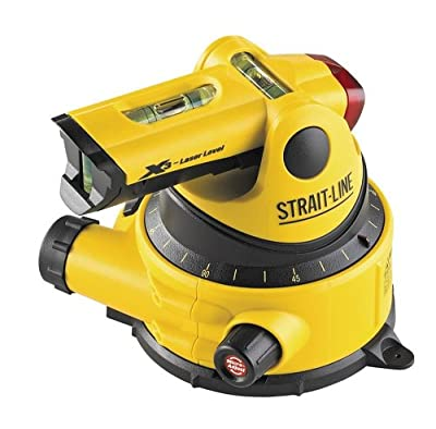 Strait-Line 6041103 X3 1/4-Inch at 20-feet Manual Level 2 Line Laser from Strait-Line
