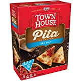 Keebler, Town House, Pita Crackers, Sea Salt, 9.5oz Box (Pack of 4) Larger Image