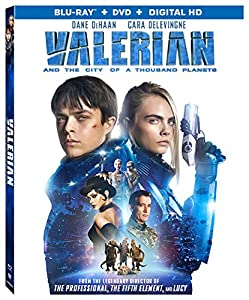 Valerian and the City of A Thousand Planets [DVD + Bluray] [Blu-ray] by LIONSGATE