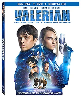 Valerian and the City of A Thousand Planets [DVD + Bluray] [Blu-ray]
