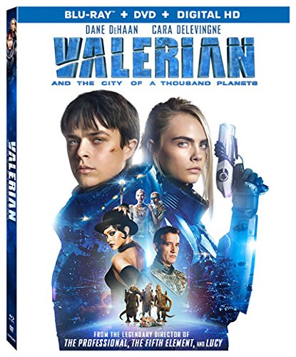 Blu-ray : Valerian and the City of a Thousand Planets (With DVD, Widescreen, Dolby, AC-3, Digitally Mastered in HD)