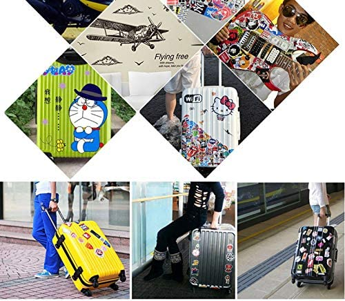 Baffo100 pcs Halloween Stickers for Halloween Decoration Motorcycle Laptop Pad MacBook Guitar Case Bicycle Skateboard Car Luggage Bumper Stickers Halloween Party Decoration