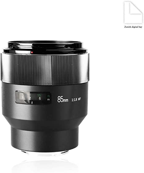 Meike 85mm F1.8 Manual Focus Auto Aperture Medium Telephoto Fixed ...