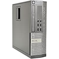 Dell Optiplex Business Small Form Factor SFF Desktop Computer, Intel Quad Core i5-2400 3.1Ghz CPU, 8GB DDR3 RAM, 2TB HDD, DVD, VGA, DisplayPort, Windows 7 Professional (Certified Refurbished)
