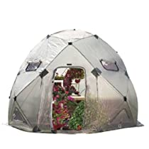 Flower House FHDO800 DomeHouse Hub Style Greenhouse