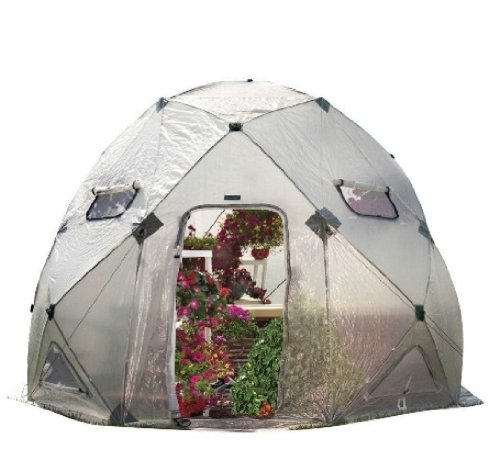 Flower House FHDO800 DomeHouse Hub Style Greenhouse by Flower House