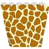 Creative Converting Treat Boxes, Giraffe, 8 Per Package