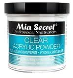 Best Acrylic Powders - Mia Secret Professional Acrylic Nail System Clear Acrylic Review