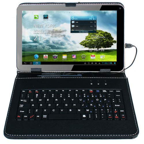 """9"""" Android 5.1 Tablet PC Quad Core 8GB Wi-Fi Dual Camera with Keyboard Bundle from Unknown"""