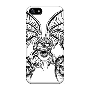 Iphone 5/5s XDI6783QrEm Unique Design High Resolution Avenged Sevenfold Skin Scratch Protection Hard Cell-phone Cases -MansourMurray