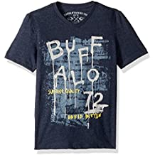 Buffalo David Bitton Big Boys Short Sleeve Graphic Tee Shirt