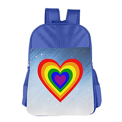 XianNonG RAINBOW HEART Boys And Girls Cute School Bags - Sunglasses Keanu Reeves