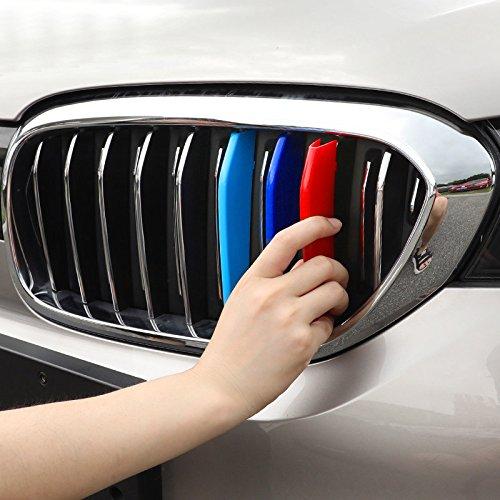 ABS 3 Couleur avant Centre Grille Grille Grille pour Coupez 3 pcs pour accessoire de voiture BM5S