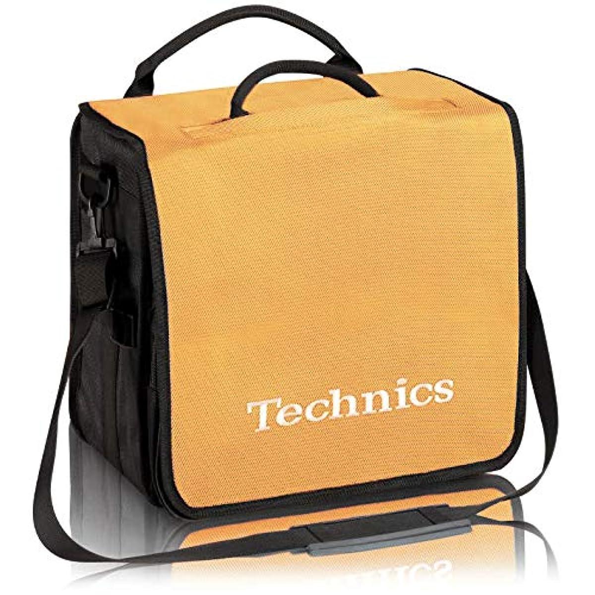 [해외] TECHNICS테크닉스 / BACKBAG YELLOW/WHITE 레코드 약60 매수납가 레코드 화이트