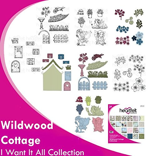 Heartfelt Creations Wildwood Cottage Full Collection (no card kit in this bundle) by Wildwood Cottage