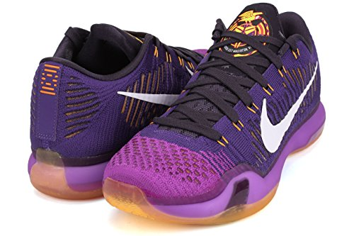 nike KOBE X ELITE LOW mens basketball trainers 747212 sneakers shoes Court Purple/White-vivid Purple z8n411V