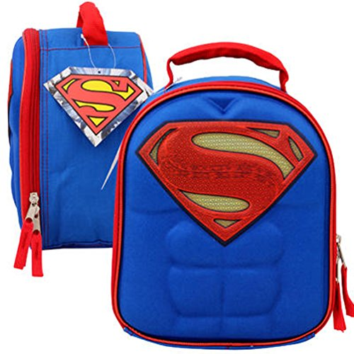 Shaped Lunch - Licensed Chest Shaped Hero Lunch Bag - 10
