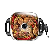 Caynel 12 x 12 Inch Nonstick Electric Skillet