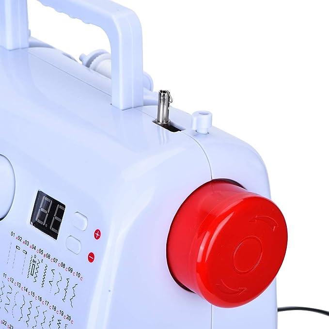 Neufday Mini máquina de Coser eléctrica portátil, Mini máquina de ...