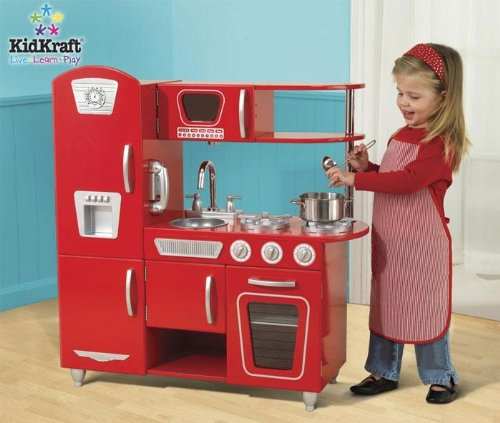 KidKraft Retro Kitchen Set (Red) | Compare Prices, Set Price Alerts, and  Save with GoSale.com