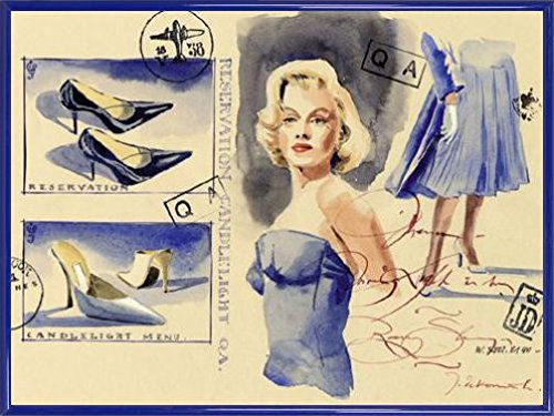 jaak-de-koninck-poster-art-print-and-frame-plastic-woman-with-style-shoes-32-x-24-inches