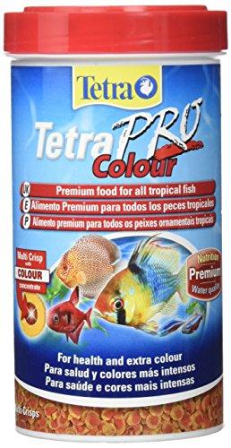 Tetra Pro Colour Fish Food, Complete Premium Food For All Tropical Fish (Tetra Pro Tropical Crisps)