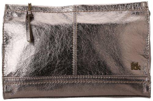 (The SAK Iris Demi Clutch Handbag,Pyrite Metallic,One Size)