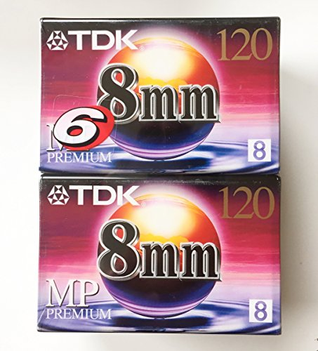 TDK P6-120 HS video Tape (6-Pack) (Discontinued by Manufacturer)