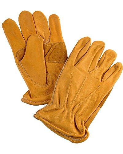 Justin Men's Cowhide Gloves Tan - Mens Justin Glove