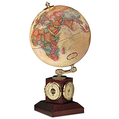 Replogle Globes Weather Watch Globe, Antique Ocean, 9-Inch Diameter, Small, Off/Off/White ()