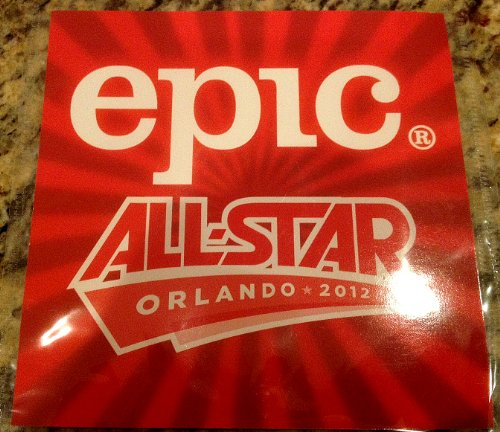 Epic All Star 2012 Collectable Artists Cd