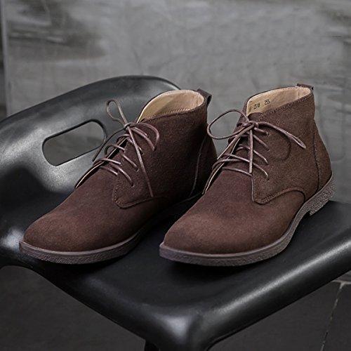 Minitoo - Botas Chukka hombre, color marrón, talla 41 EU