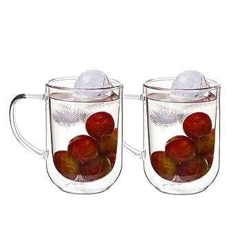 6 x Latte Macchiato Gläser Kaffeegläser Henkelglas Teeglas