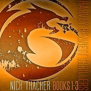 Harvey Bennett Thrillers: Books 1-3 Audiobook